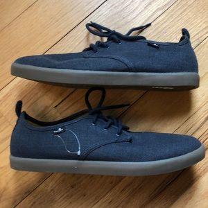 Sanuk Guide Plus Navy Black Sneaker 10